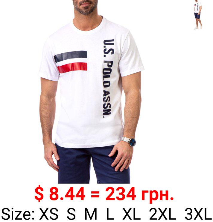 U.S. Polo Assn. Men's Short Sleeve Printed T-Shirt