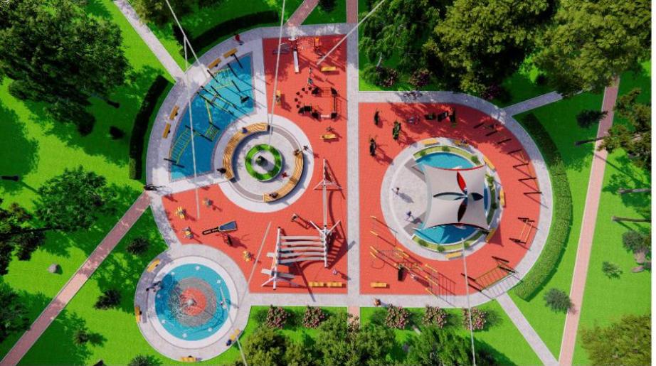 Спортивный сквер построят в Хабаровске