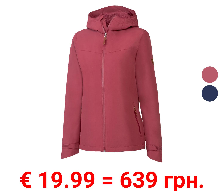 CRIVIT® Allwetterjacke Damen, atmungsaktiv, wind- und wasserdicht