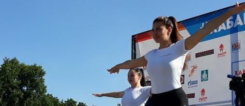 В Хабаровске продолжаются спортивные мероприятия «Я выбираю спорт!»