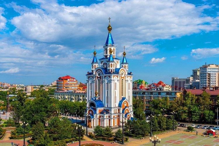 Храмы, Соборы и Церкви Хабаровска