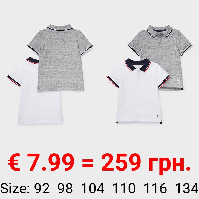 Multipack 2er - Poloshirt