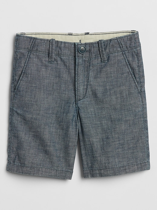 Toddler Chambray Shorts