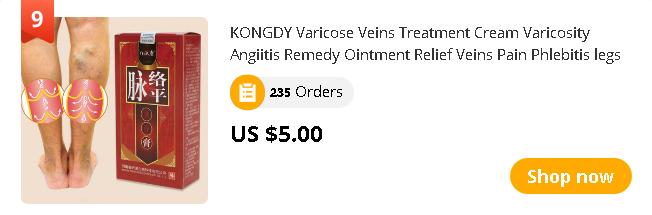 KONGDY Varicose Veins Treatment Cream