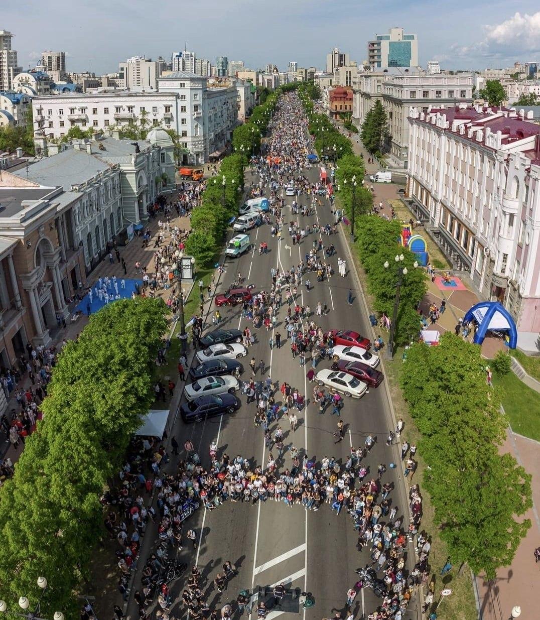В Хабаровске продолжается День города