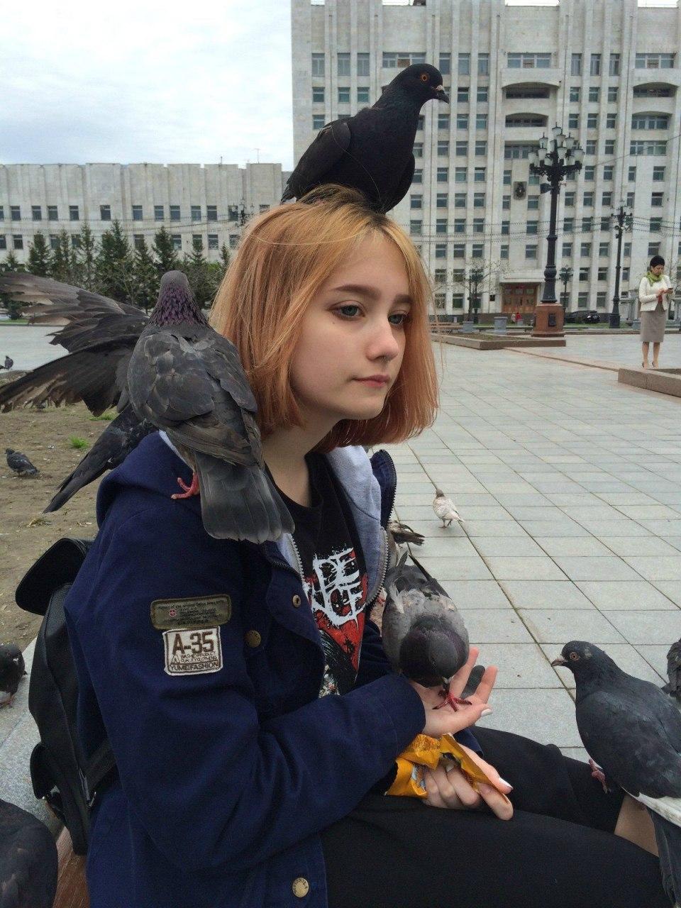 Борьбу с голубями на площади им. Ленина в Хабаровске начало правительство