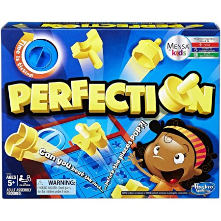 Perfection Game, for 1 or more players, Ages 5 and up