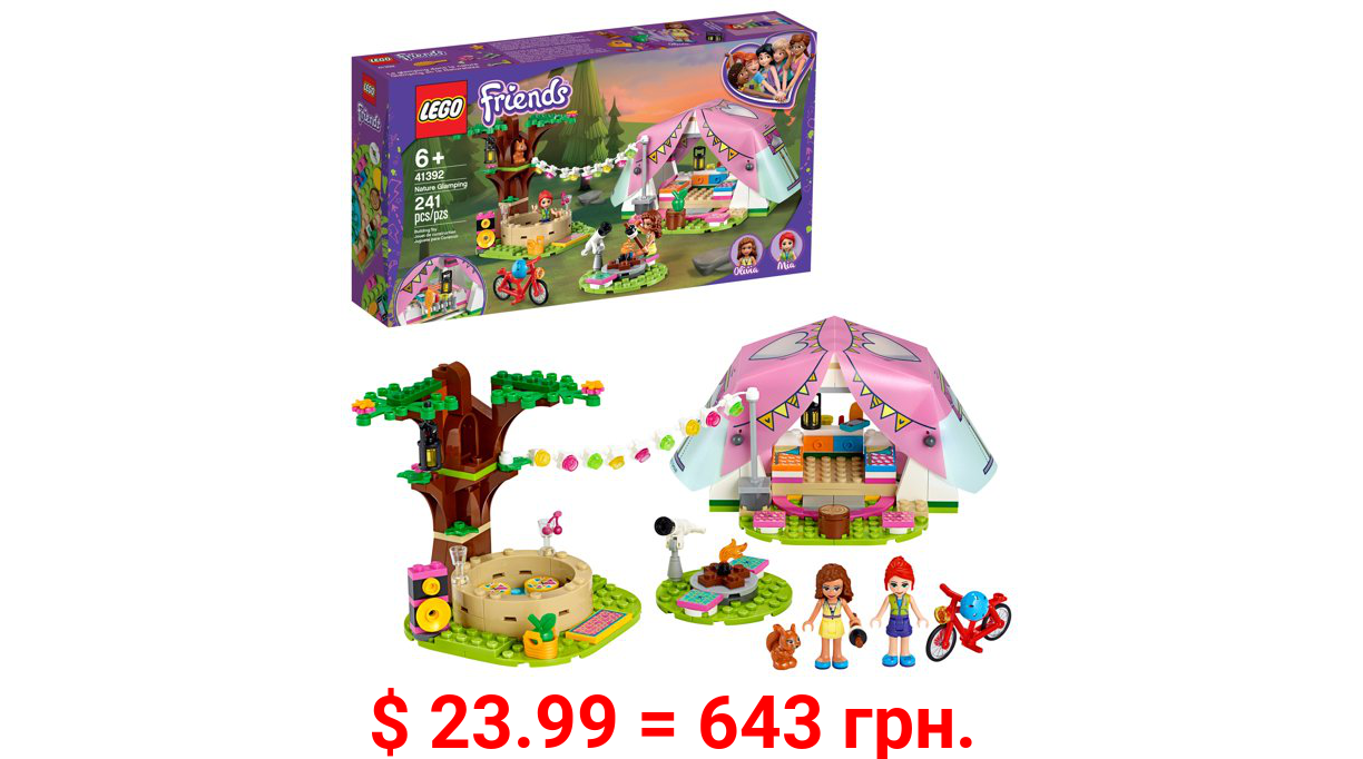 LEGO Friends Nature Glamping 41392 Toy Camping Building Kit (241 Pieces)