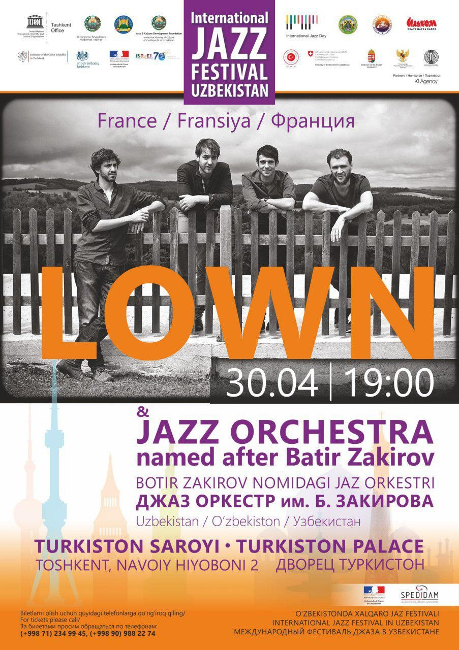 International Jazz Festival in Uzbekistan: LOWN