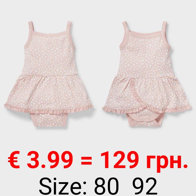 Baby-Schlafanzug - Bio-Baumwolle - gepunktet