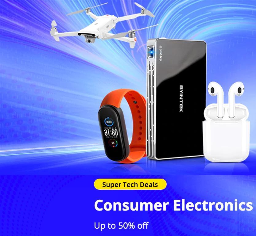 Super Tech Deals: Consumers Electronics
