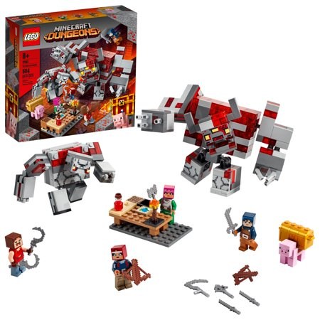 LEGO Minecraft The Redstone Battle 21163 Cool Action Playset for Kids (504 Pieces)