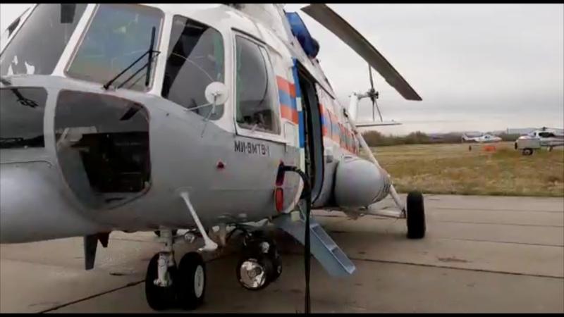 Вертолёт МЧС вылетел в зону тонущего севера Хабаровского края