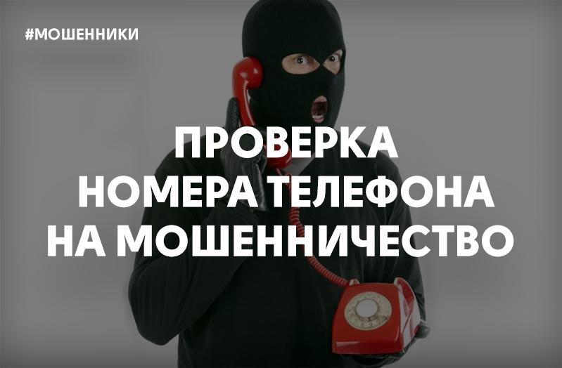Проверка номера мобильного телефона на мошенничество