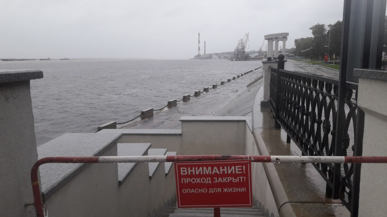 Уровень Амура у Хабаровска продолжает расти