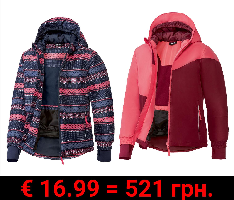 CRIVIT® Mädchen Skijacke, wind- und wasserdicht