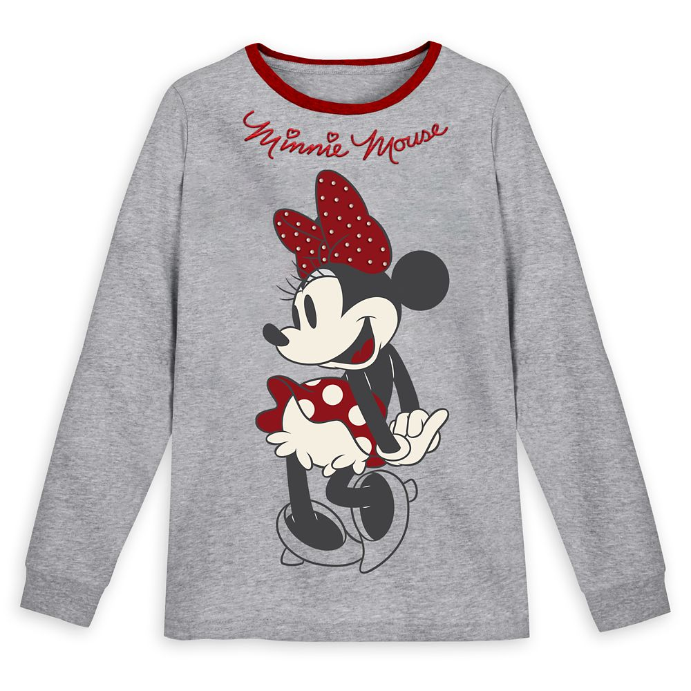 Minnie Mouse Long Sleeve T-Shirt for Women