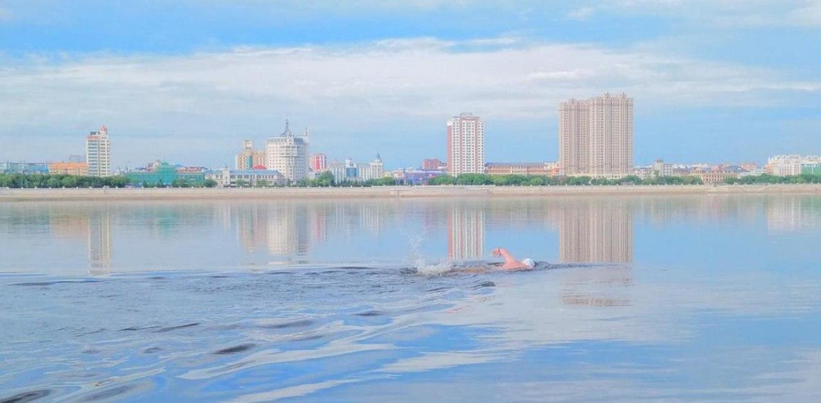 Открытый Кубок России по холодовому плаванию прошел в Хабаровском крае