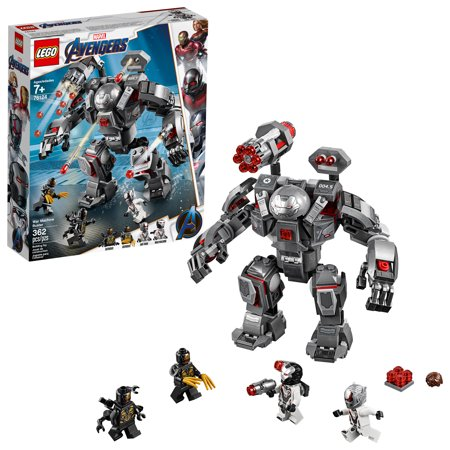 LEGO Marvel Avengers War Machine Buster 76124 Superhero Mech Building Toy (362 pieces)
