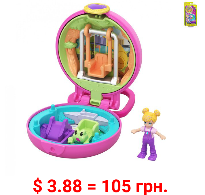 Polly Pocket Tiny Pocket Places Polly Playground Compact