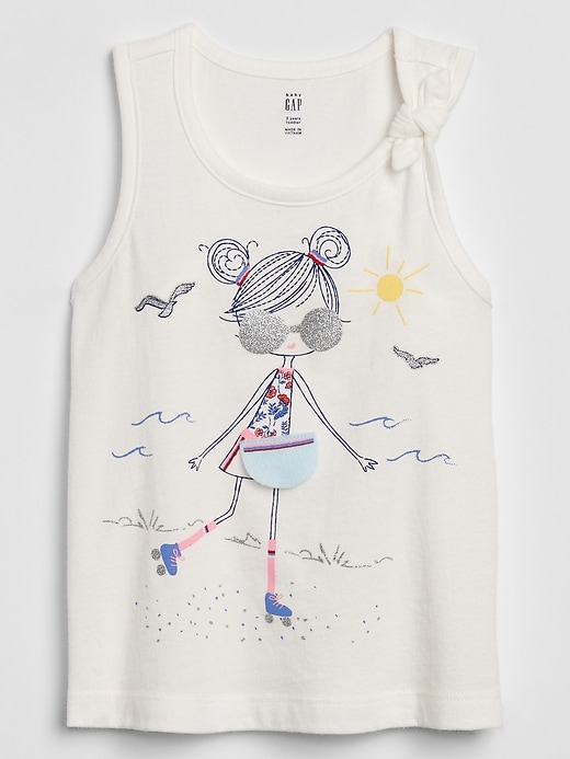Toddler Interactive Graphic Tank Top