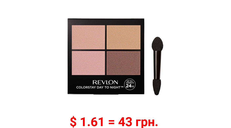 Revlon ColorStay Day to Night Eyeshadow Quad, 505 Decadent, 0.16 oz
