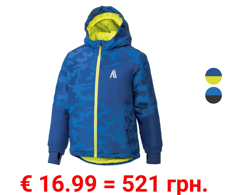 CRIVIT® Jungen Skijacke, mit Kinnschutz