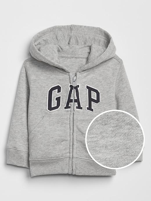 babyGap Gap Logo Zip Hoodie