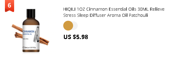 HIQILI 1OZ Cinnamon Essential Oils 30ML Relieve Stress Sleep Diffuser Aroma Oil Patchouli Sandalwood Lavender Ylang Jasmine
