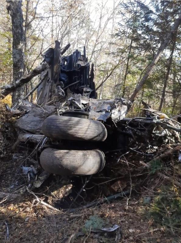 МЧС завершило работы на месте крушения Ан-26 под Хабаровском