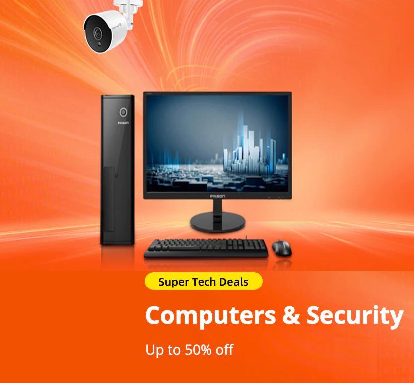 Super Tech Deals: Computers & Security
