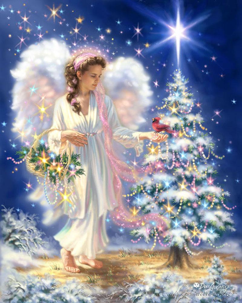 картинки анимация ангел с рождеством лионеля есть два