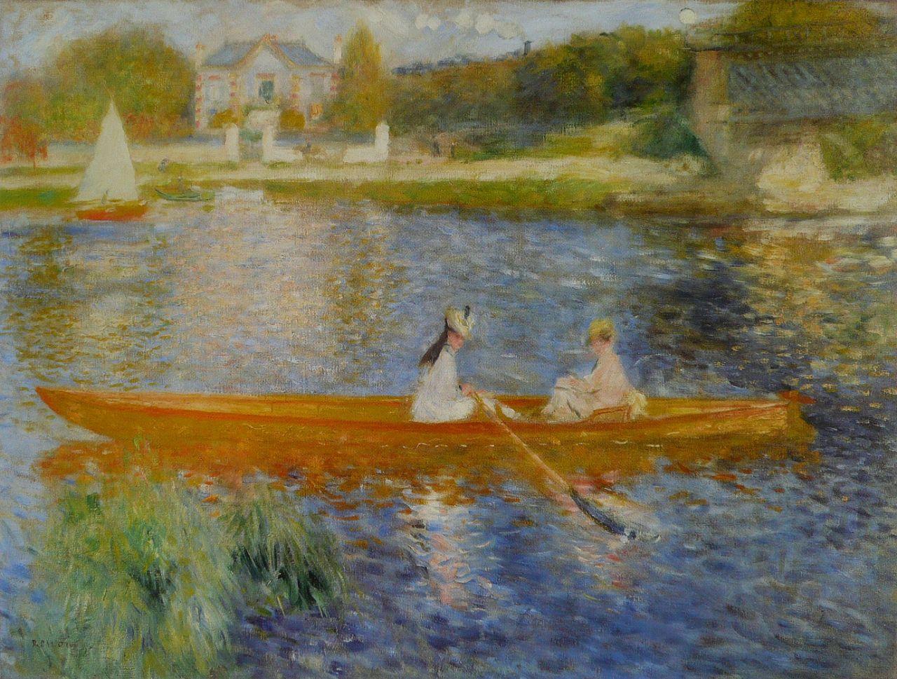 Обои Клод Моне, Пейзаж, картина, Сена возле Ветей. Бурная Погода. Разное foto 16