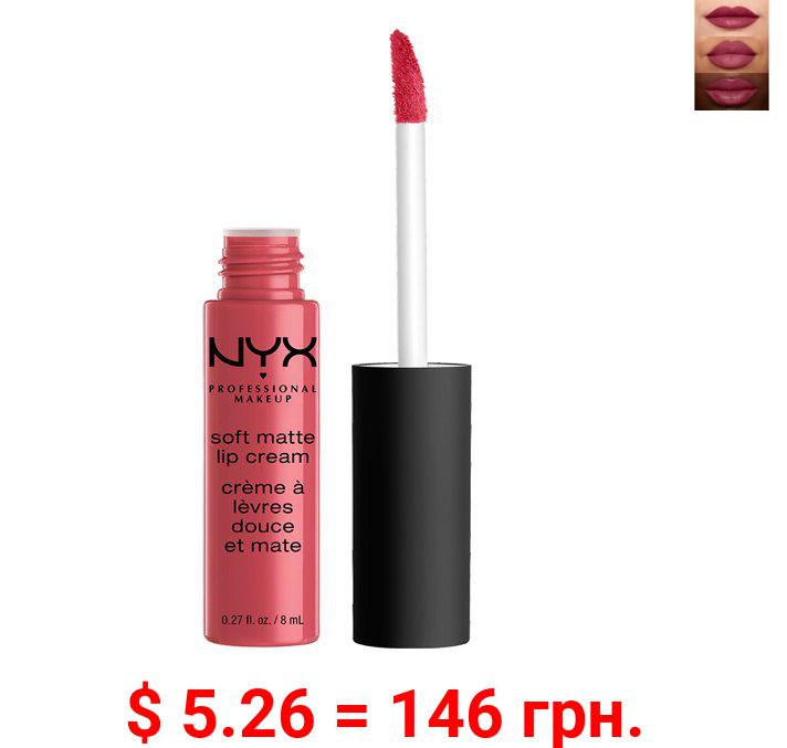 NYX Professional Makeup Soft Matte Lip Cream, lightweight liquid lipstick Sao Paulo