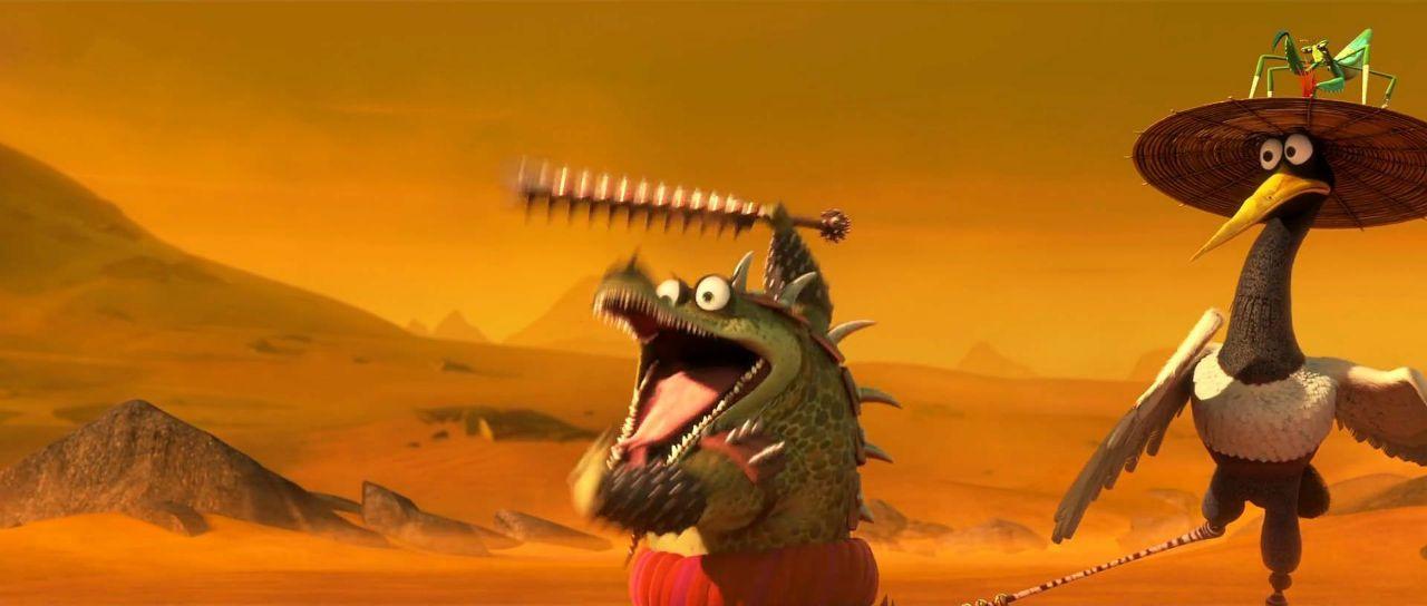 Screenshot of Kung Fu Panda 3
