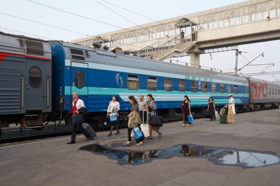 Во Владивосток из Хабаровска со скидкой на фирменном поезде «Океан»
