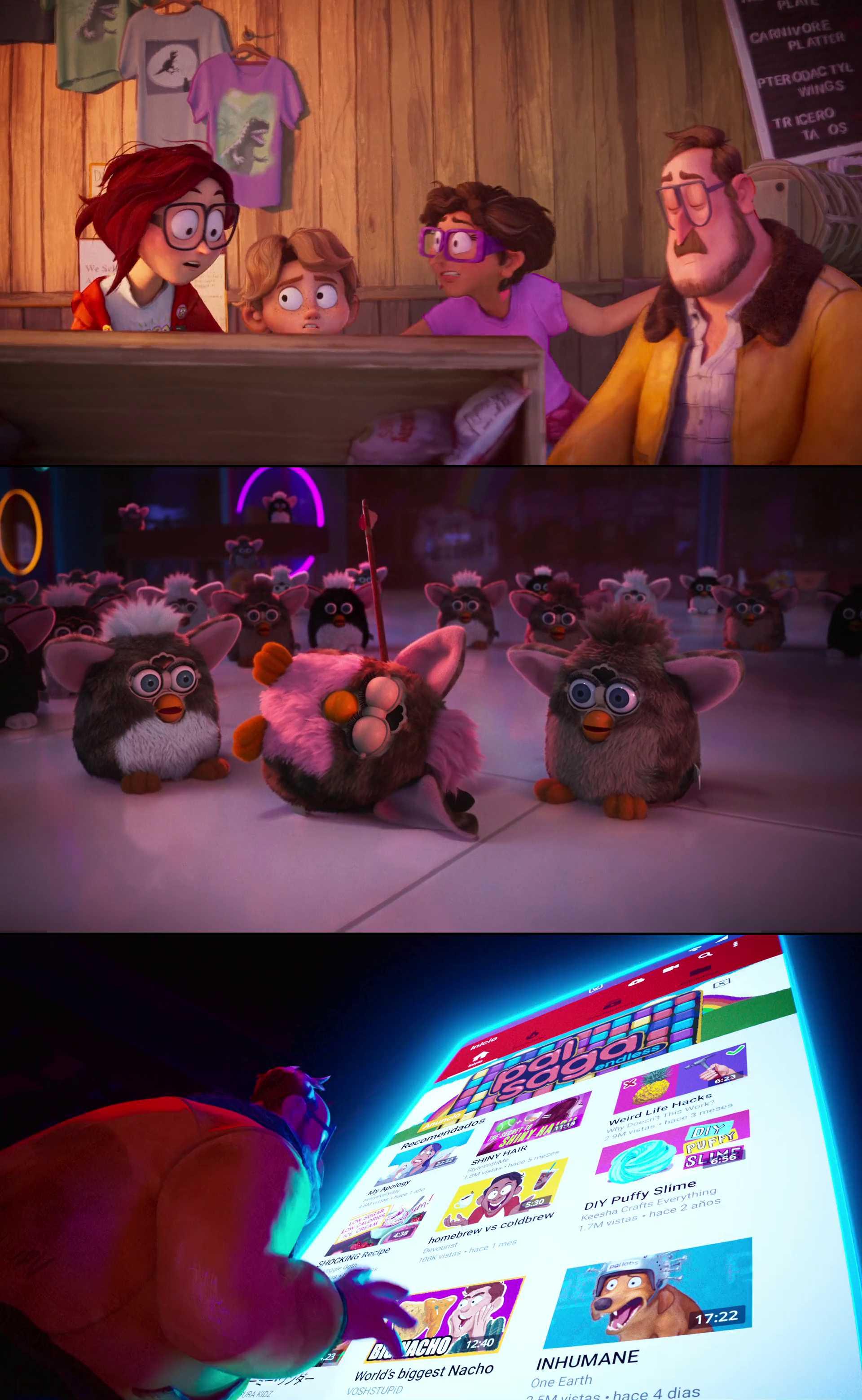 Screenshot of The Mitchells vs. the Machines Movie