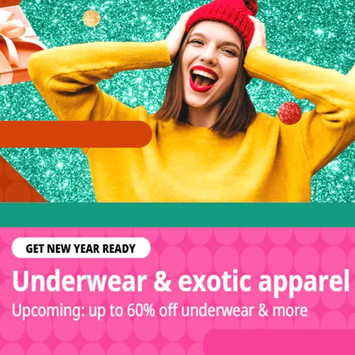 Underwear & exotic apparel