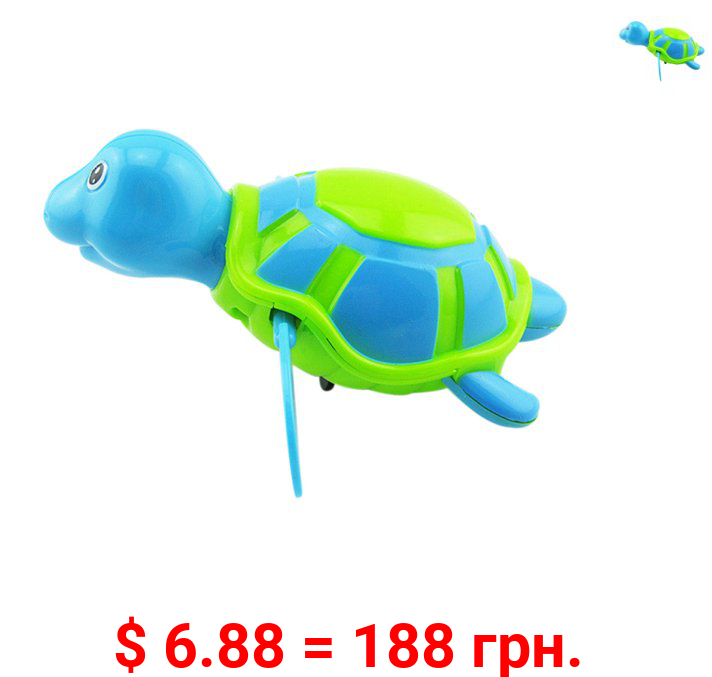 Fymall Baby Bath Toys Toddler Cute Turtle Animal Float Pool Swimming Bathtub Toy
