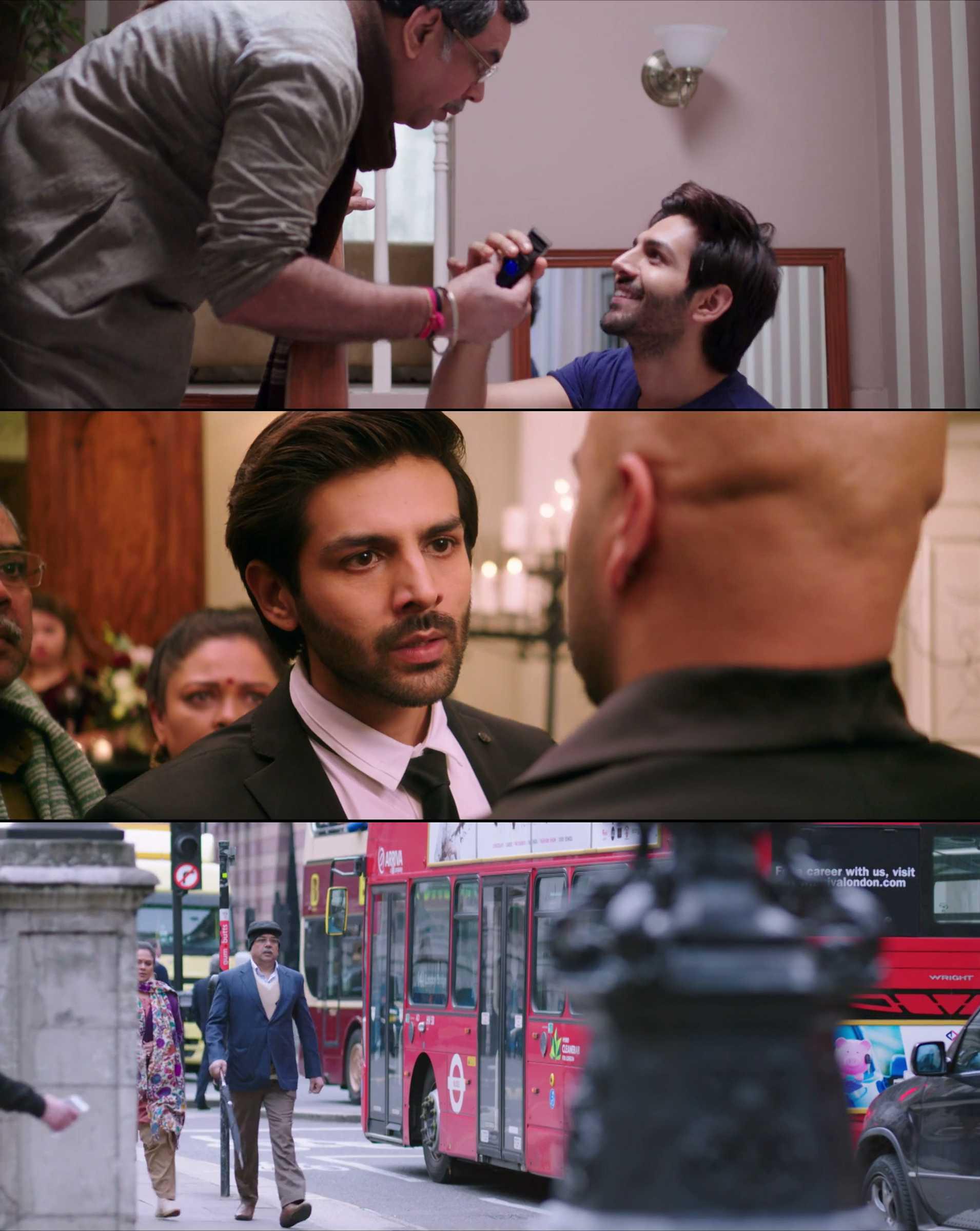 Screenshot of Guest iin London Movie