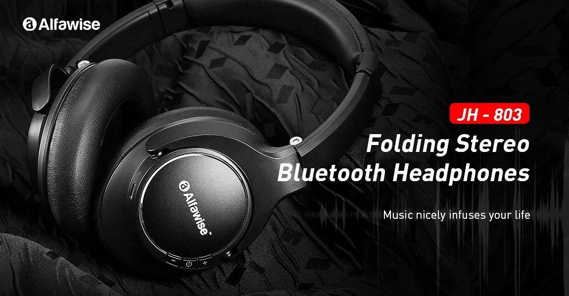 ?Alfawise JH Folding Stereo Bluetooth Headphones