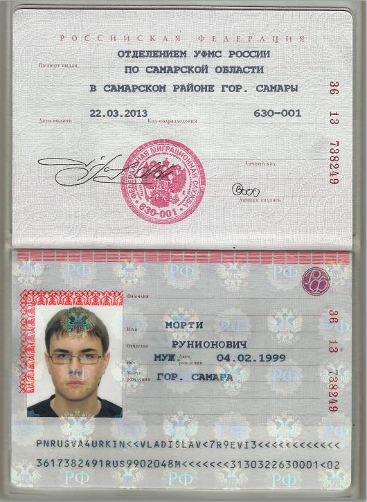 Паспорт скан игнат холл форекс