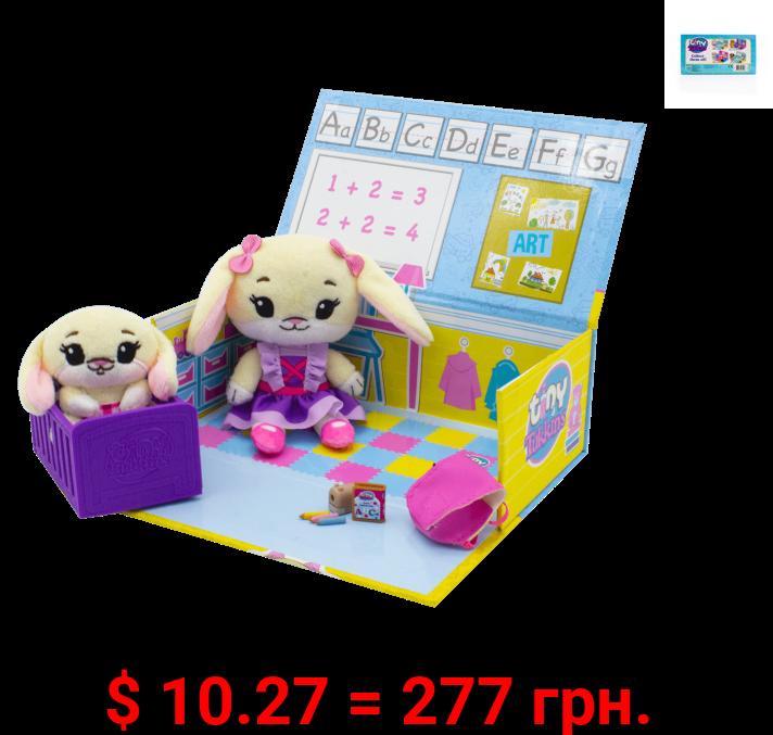 Tiny Tukkins Playset Assortment with Plush Stuffed Character, Bunny