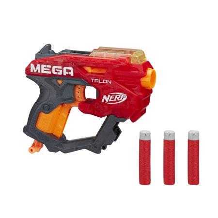 Nerf Mega Talon Blaster, Includes 3 AccuStrike Nerf Mega darts