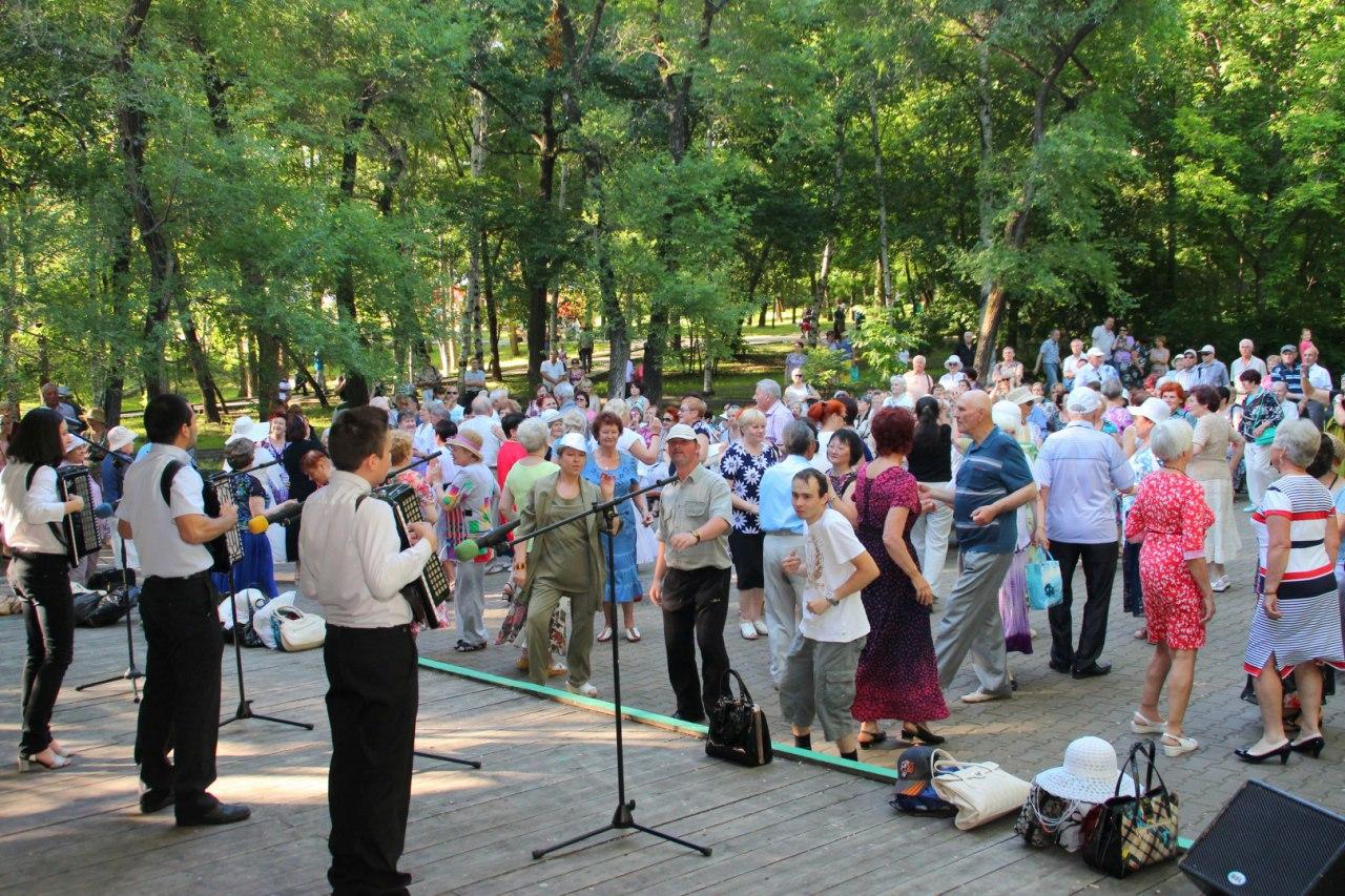 В парке «Динамо» возобновились «Хабаровские встречи»