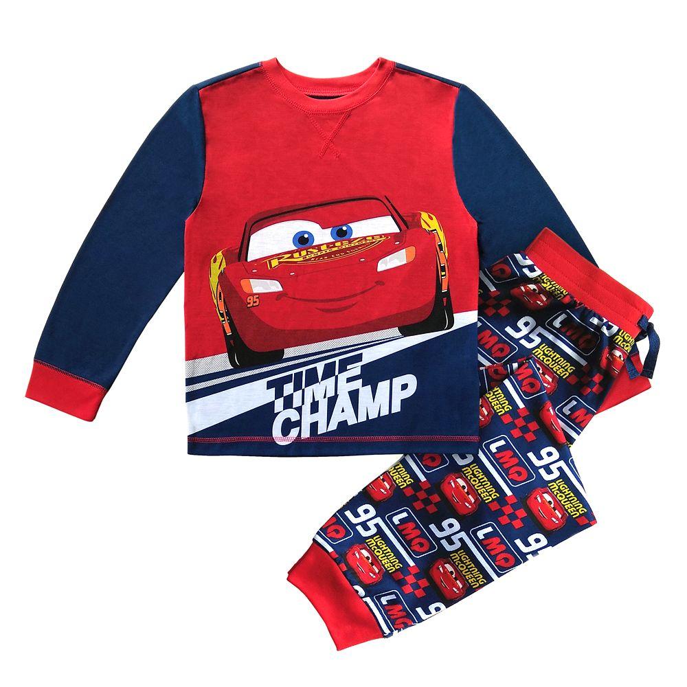 Lightning McQueen Pajama Set for Boys