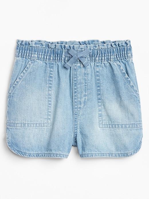 Toddler Denim Pull-On Shorts