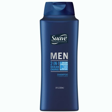Suave Ocean Charge 2 in 1 Shampoo and Conditioner 28 oz