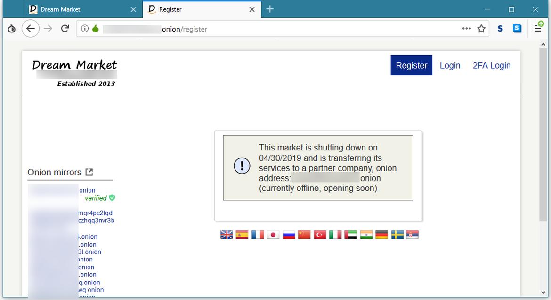 Dream market darknet как обновить на tor browser flash hyrda