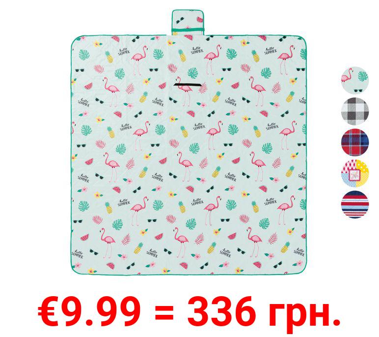CRIVIT® XXL-Picknickdecke, 200 x 200 cm, mit Tragegriff